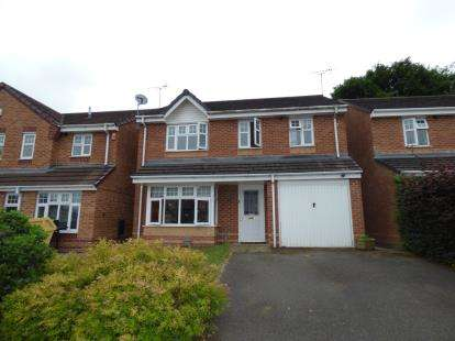 4 Bedrooms Detached House for sale in Westfield Grove, Derby, Derbyshire