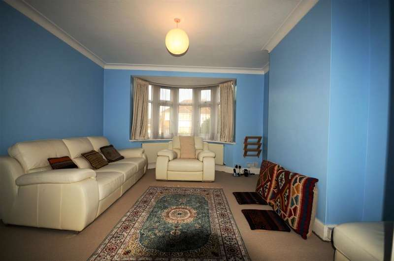 3 Bedrooms Semi Detached House for sale in Wykeham Hill, Wembley, , HA9 9RZ