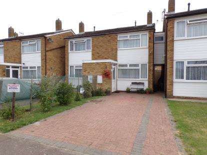 2 Bedrooms Terraced House for sale in Bunkers Drive, Cotton End, Bedford, Bedfordshire