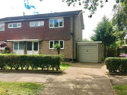 3 Bedrooms Semi Detached House for sale in Radburn Way, Letchworth Garden City, Hertfordshire, England