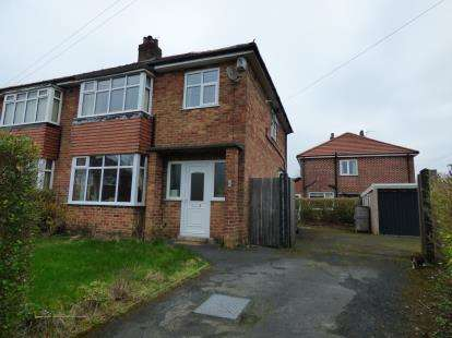 3 Bedrooms Semi Detached House for sale in Houghton Road, Penwortham, Preston, PR1