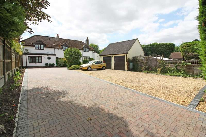 5 Bedrooms Detached House for sale in Crowmarsh Hill, Crowmarsh Gifford