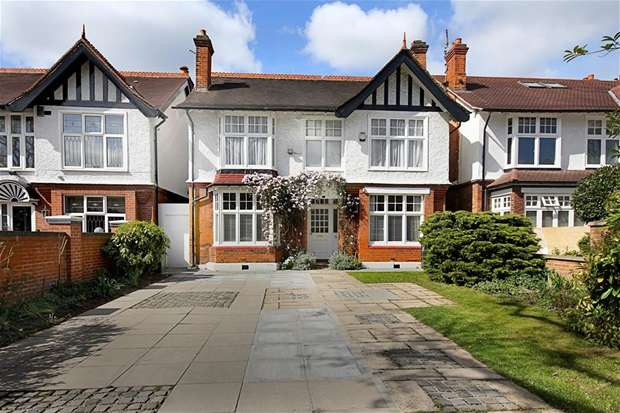 5 Bedrooms Detached House for sale in Argyle Road, West Ealing