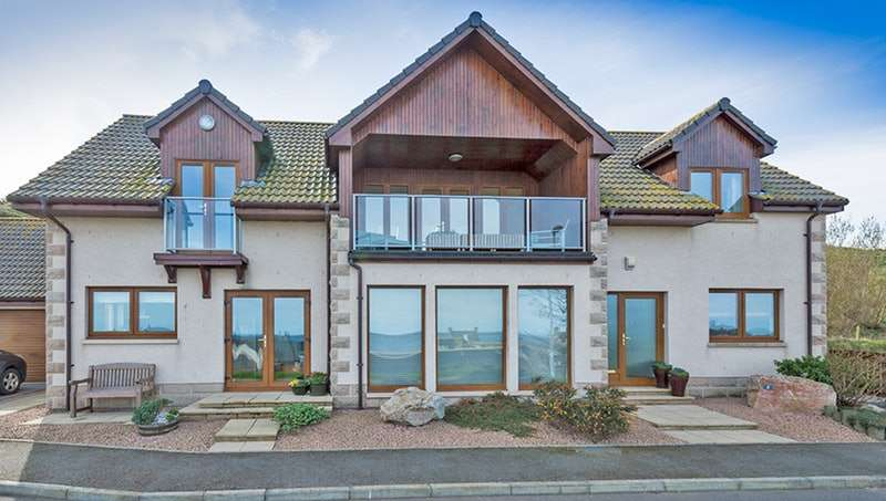 4 Bedrooms Detached House for sale in 2 Earls View, Portgordon, Buckie, Morayshire, AB56