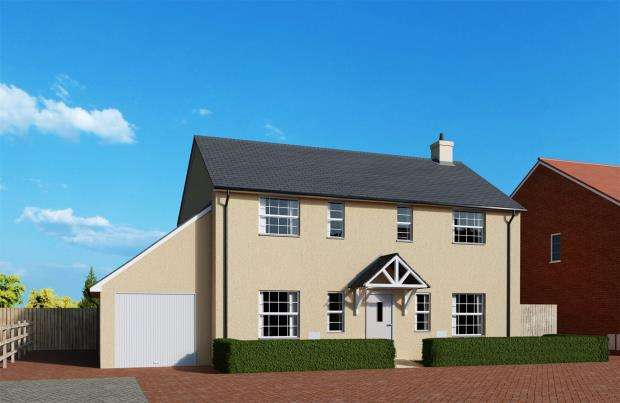 4 Bedrooms Detached House for sale in Meadow Haze, Meadow View Close, Woodbury, Exeter