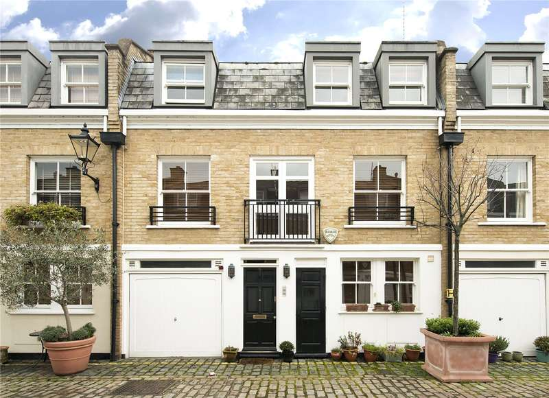 4 Bedrooms House for sale in Elnathan Mews, London, W9