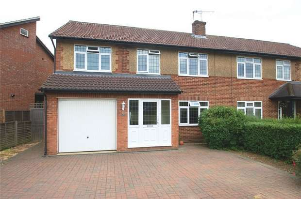 5 Bedrooms Semi Detached House for sale in Chandlers Road, Marshalswick, St. Albans, Hertfordshire