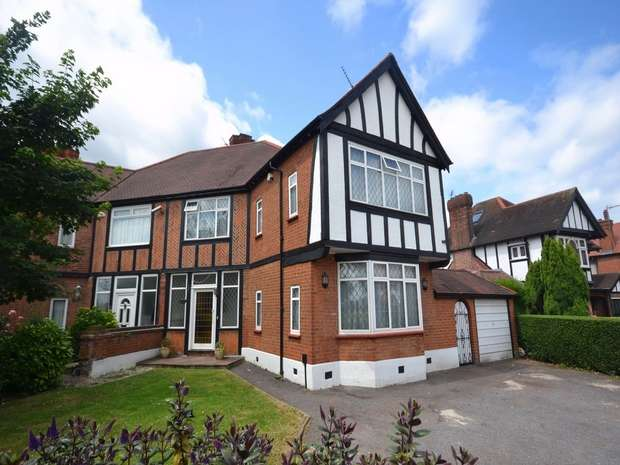 4 Bedrooms Semi Detached House for sale in The Fairway, Sudbury Court Estate, Middlesex