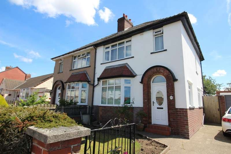3 Bedrooms Semi Detached House for sale in Embleton Road, Carlisle, CA2