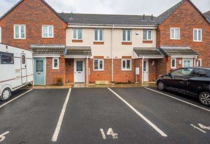 2 Bedrooms Terraced House for sale in The Meadows, Cannock, Staffordshire, Wedges Mills