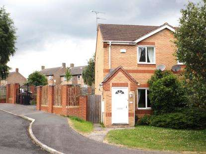 2 Bedrooms Semi Detached House for sale in Copenhagen Road, Clay Cross, Chesterfield, Derbyshire