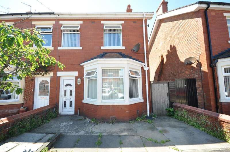3 Bedrooms Semi Detached House for sale in Rangeway Avenue, Blackpool, Lancashire, FY4 2DJ