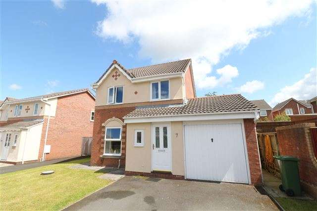 3 Bedrooms Detached House for sale in Curlew Walk, Carlisle, Cumbria, CA1 2WD