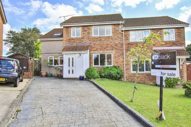 4 Bedrooms Semi Detached House for sale in Pinecrest Drive, Thornhill, Cardiff