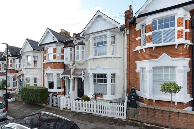 4 Bedrooms Terraced House for sale in Tulsemere Road, West Norwood