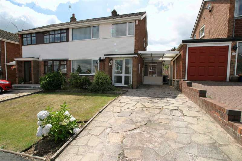 3 Bedrooms Semi Detached House for sale in Apsley Grove, Tittensor, Stoke on Trent