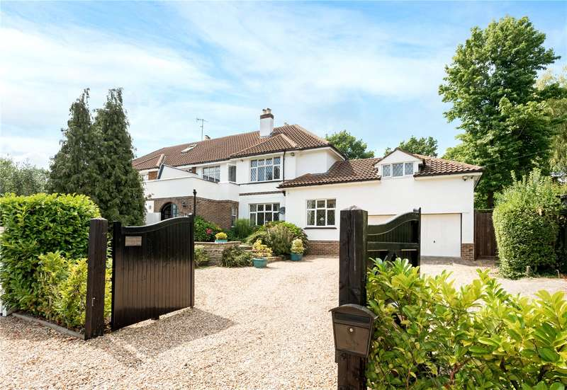 4 Bedrooms Semi Detached House for sale in Picketts Lane, Redhill, Surrey, RH1