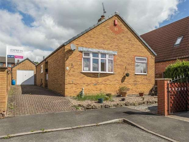 3 Bedrooms Detached Bungalow for sale in The Green, Huthwaite, Sutton-in-Ashfield, Nottinghamshire