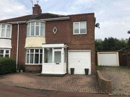 4 Bedrooms Semi Detached House for sale in Richmond Avenue, Gateshead, Tyne and Wear, NE10