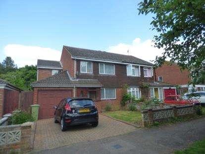 4 Bedrooms Semi Detached House for sale in Crosslands, Stantonbury, Milton Keynes