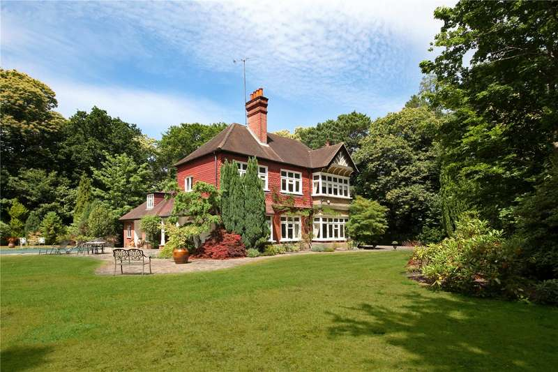 5 Bedrooms Detached House for sale in Heathfield Avenue, Sunninghill, Ascot, Berkshire, SL5