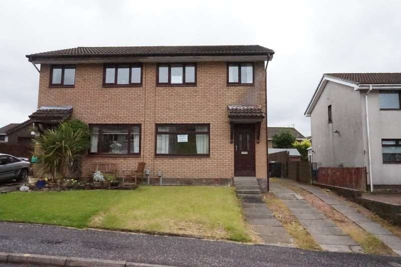 3 Bedrooms Semi Detached House for sale in wellyard way, greenock, Renfrewshire, PA16