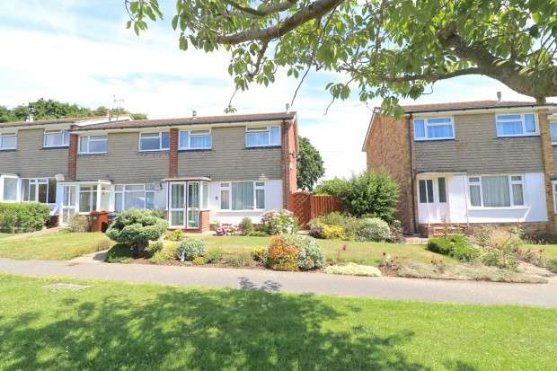 3 Bedrooms End Of Terrace House for sale in Barons Way, Polegate, BN26