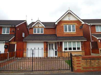 4 Bedrooms Detached House for sale in Bracknell Avenue, Liverpool, Merseyside, L32