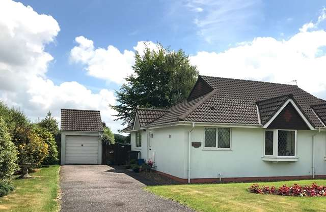 2 Bedrooms Semi Detached Bungalow for sale in Culme Close, Dunkeswell