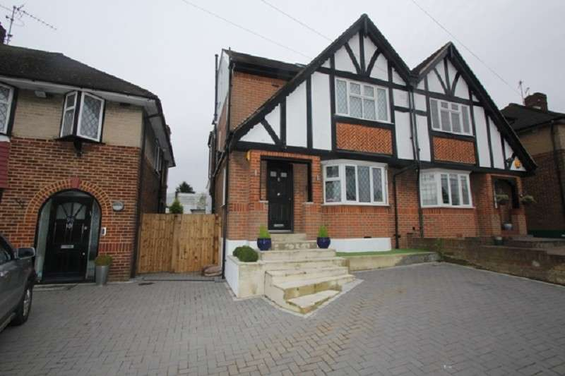 4 Bedrooms Semi Detached House for sale in Kenilworth Road, Edgware, Middx . HA8 8XD