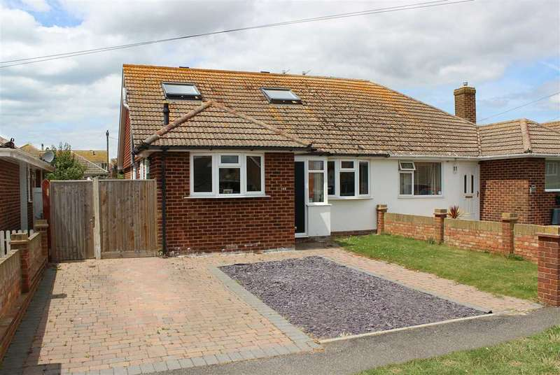 4 Bedrooms Semi Detached House for sale in Sutton Avenue, Peacehaven