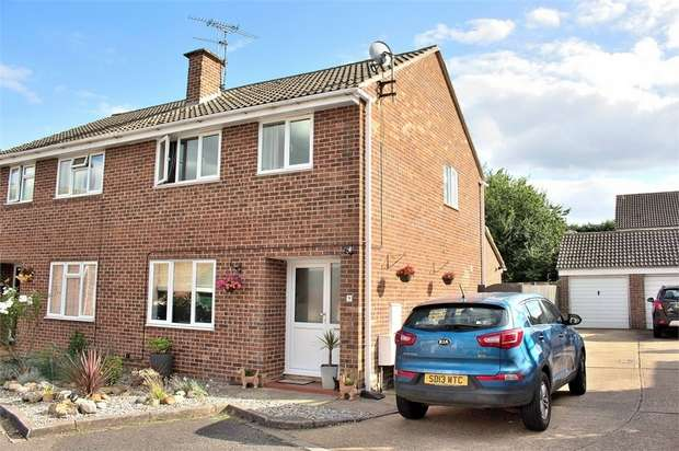 3 Bedrooms Semi Detached House for sale in Barnston, Great Dunmow, Essex
