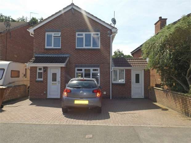 4 Bedrooms Detached House for sale in Brookside, Barlestone, Nuneaton, Leicestershire