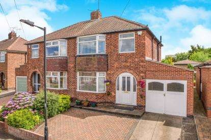 3 Bedrooms Semi Detached House for sale in Newland Park Drive, York, North Yorkshire, England