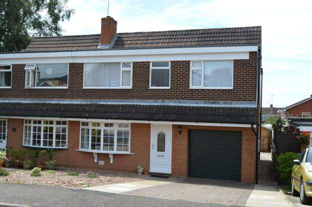 3 Bedrooms Semi Detached House for sale in Drakes Avenue, Sidford, Sidmouth, Devon