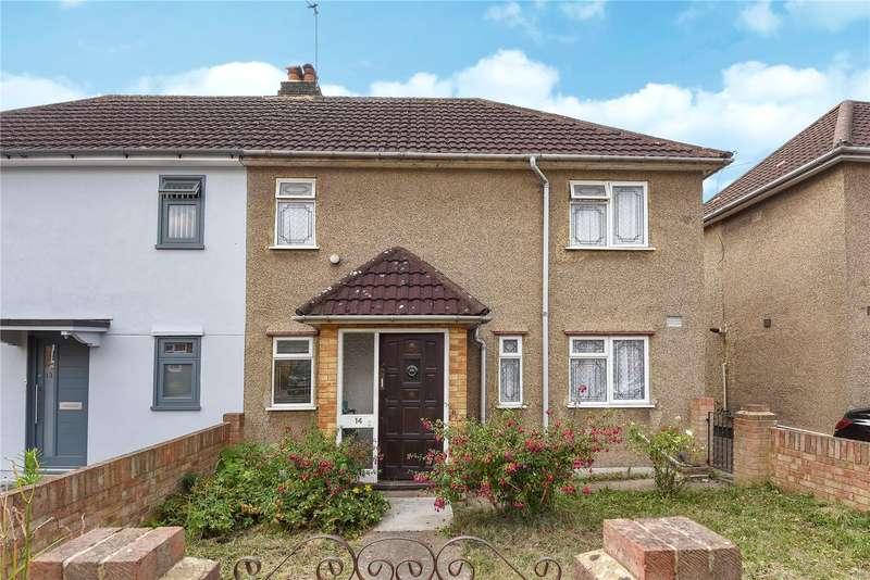 3 Bedrooms Semi Detached House for sale in Nursery Waye, Uxbridge, Middlesex, UB8