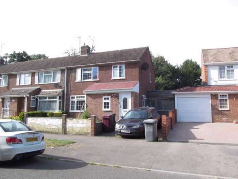 4 Bedrooms Semi Detached House for sale in Wensley Road, Reading