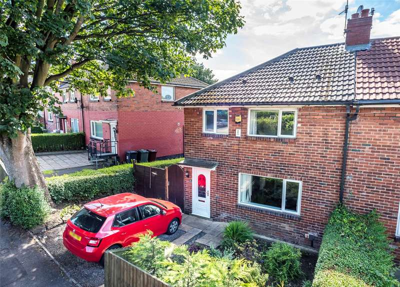 3 Bedrooms Semi Detached House for sale in Miles Hill Road, Leeds, West Yorkshire, LS7