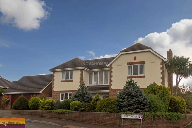 5 Bedrooms Detached House for sale in Osprey Gardens, Elburton, PL9