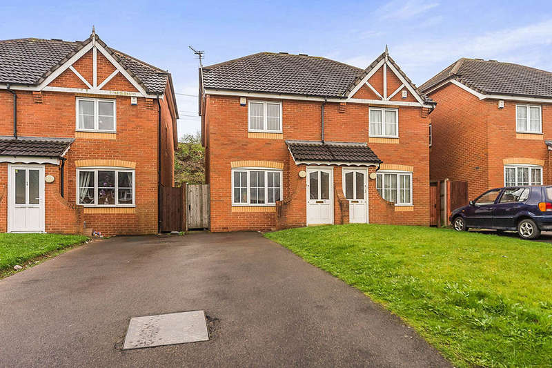 2 Bedrooms Semi Detached House for sale in Johns Lane, TIPTON, DY4