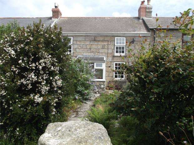2 Bedrooms Terraced House for sale in St. Johns Terrace, Pendeen, Penzance, Cornwall