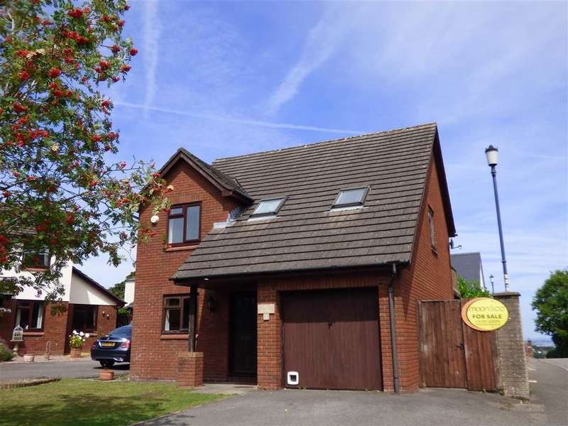 4 Bedrooms Detached House for sale in Mounton Close, Chepstow