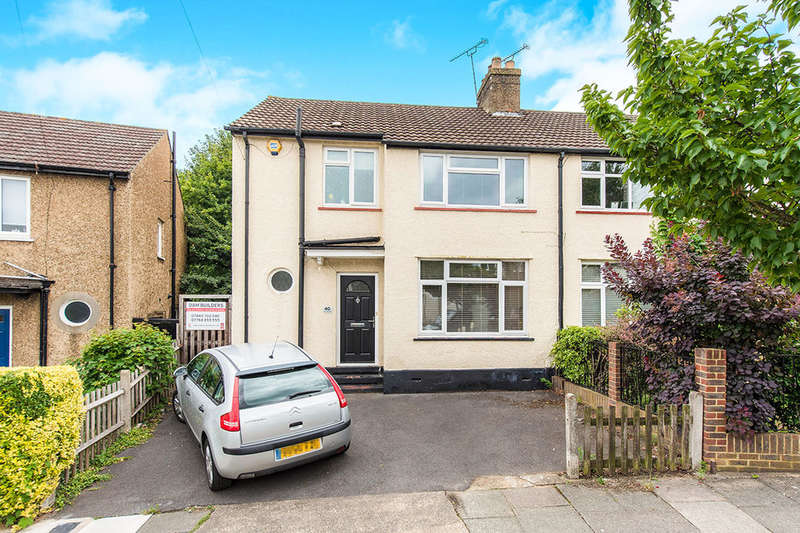 3 Bedrooms Semi Detached House for sale in Hill Crescent, Surbiton, KT5