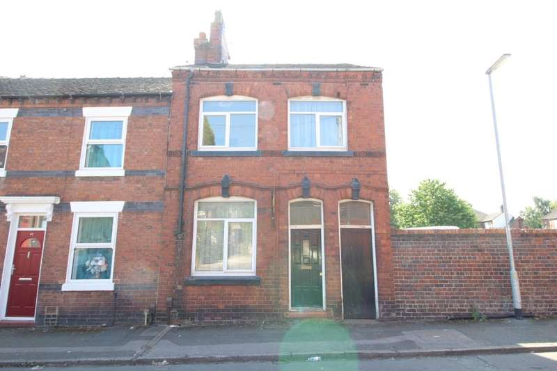 3 Bedrooms Property for sale in Warwick Street, Chesterton, Newcastle, ST5