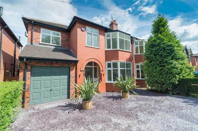 4 Bedrooms Semi Detached House for sale in Walkden Road, Worsley, Manchester