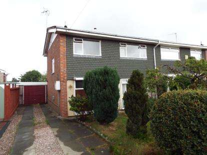 3 Bedrooms Semi Detached House for sale in Bretton Drive, Broughton, Chester, Flintshire, CH4