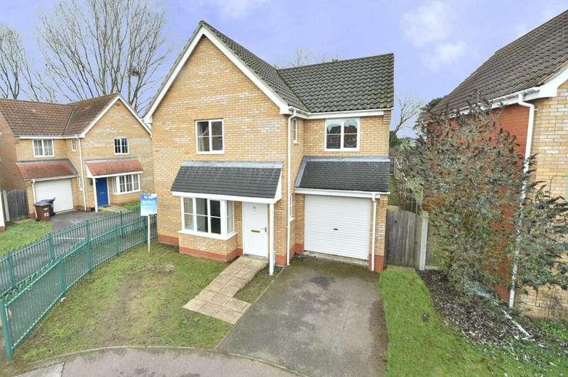 3 Bedrooms Detached House for sale in Linden Walk, Beck Row, Bury St. Edmunds