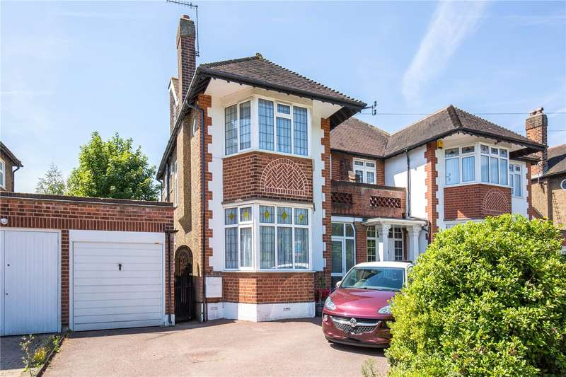 4 Bedrooms Semi Detached House for sale in Kent Drive, Cockfosters, Barnet, EN4