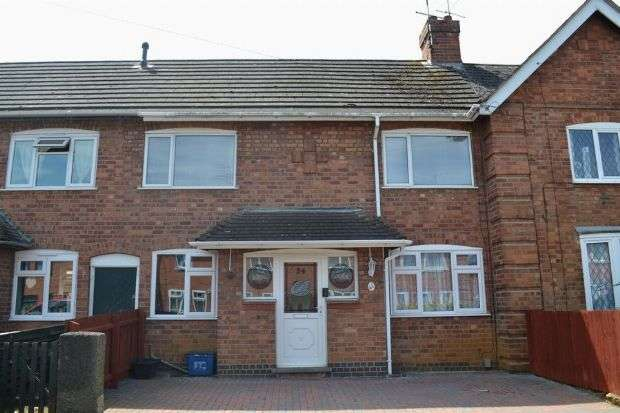 2 Bedrooms Terraced House for sale in Carlton Road, Kingsley, Northampton NN2 7DQ