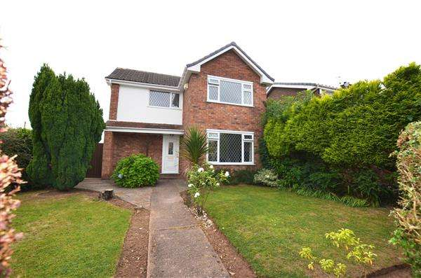 3 Bedrooms Detached House for sale in Kennedy Road, Trentham, Stoke-On-Trent